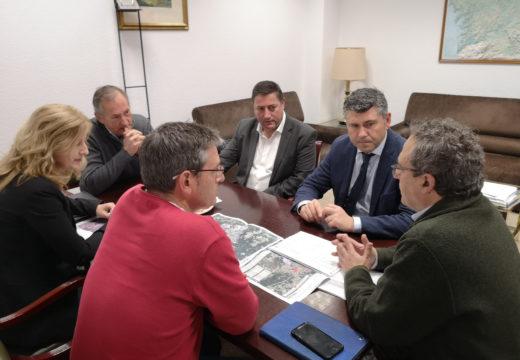 A Xunta impulsa cos alcaldes de Touro e Boqueixón a posta en valor de terras xunto coa reestruturación parcelaria en ambos concellos