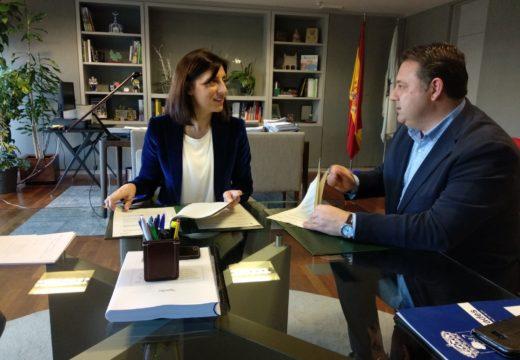 O Concello de Frades e a Xunta de Galicia investirán 125.000 euros na humanización da contorna do centro de saúde de Abellá