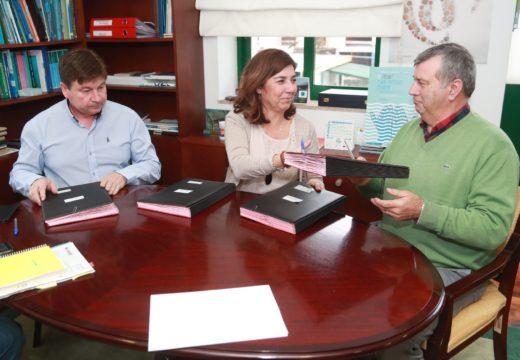 A Xunta asina coas Federacións Galega e Coruñesa de confrarías os convenios de colaboración para o seu funcionamento