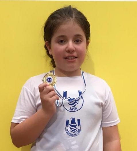 Primeiro posto para Xiana López na Copa Galicia de Salvamento e Socorrismo