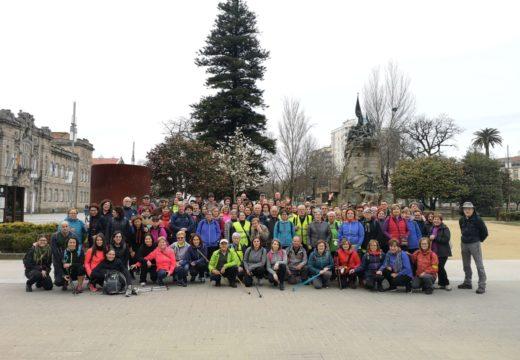 Pontevedra- Caldas de Reis, sexta etapa do Camiño portugués pola costa