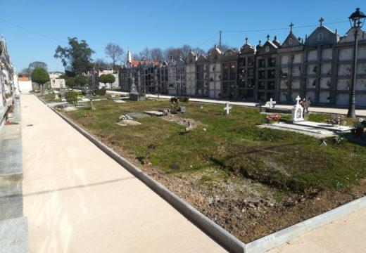 Rematan as obras de humanización do cemiterio municipal do Piñeiro