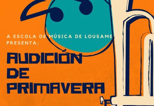 Un total de 25 cativos/as participarán mañá venres na Audición de Primavera da Escola Municipal de Música de Lousame