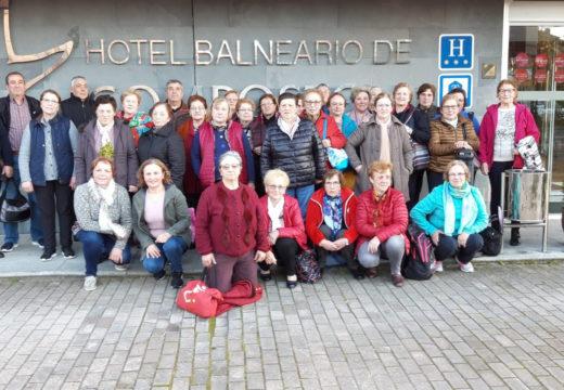 Un total de 35 veciños e veciñas participaron no Mes da Saúde do Concello de Frades, con 4 saídas ao Hotel Balneario Compostela (Brión)