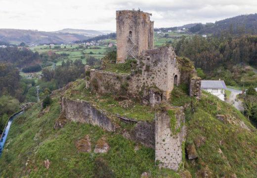 San Sadurniño licita en 188.000 euros a terceira fase de consolidación do castelo de Naraío