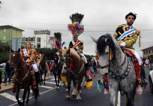 Miles de persoas desafían a chuvia para asistir á 36 Festa da Filloa de Lestedo