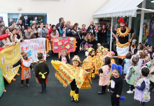 A Festa de Disfraces dos nenos e nenas da gardería municipal abre as celebracións do Entroido en Brión