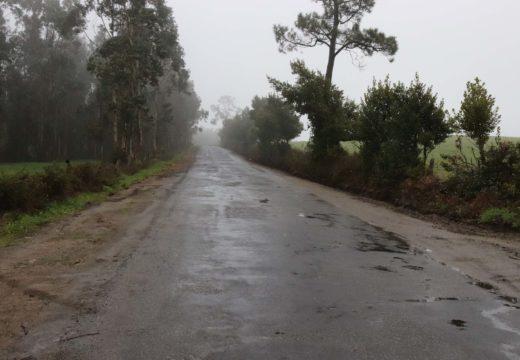 O Concello de Lousame inviste máis de 96.000 euros na mellora do acceso á aldea de Servia