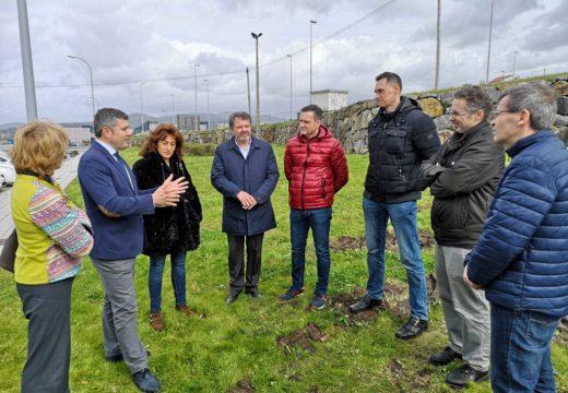 Ovidio Rodeiro visita a zona das obras do colector e do tanque de tormentas de Rianxo que comezarán esta semana cun investimento da Xunta de 4,8m€