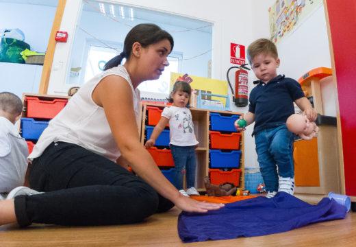 A Escola Infantil Municipal A Rolada oferta 22 prazas de novo ingreso para o curso 2019/2020