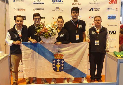 A alumna do IES Nº 1 Araceli Fachal, gañadora do I Concurso Xoves Técnicas de Automoción