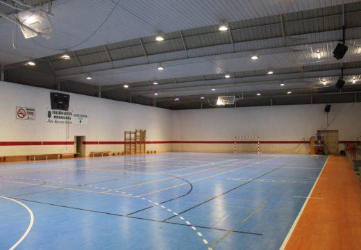 O Concello de Lousame saca a licitación as obras de substitución da cuberta do polideportivo municipal por máis de 92.000 €
