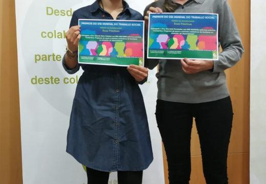 O programa CoidarNos recibe o galardón á mellor iniciativa de boas prácticas dos Premios do Colexio Oficial de Traballo Social de Galicia