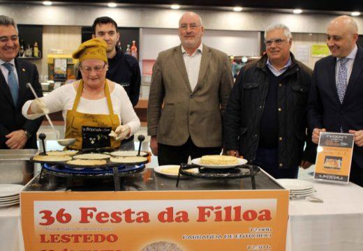 O restaurante e a cafetería de El Corte Inglés de Santiago acollerán ata o vindeiro 9 de marzo degustacións gratuítas de Filloa de Lestedo