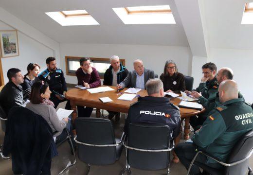 A Xunta Local de Seguridade de Brión crea unha Comisión de Coordinación Policial e acorda constituír unha Mesa Local contra a Violencia de Xénero