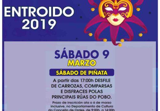 Máis de 400 participantes no Sábado de Piñata de Ordes