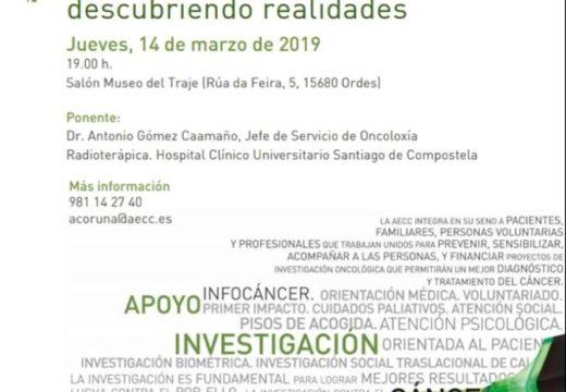 Charla sobre radioterapia e cancro