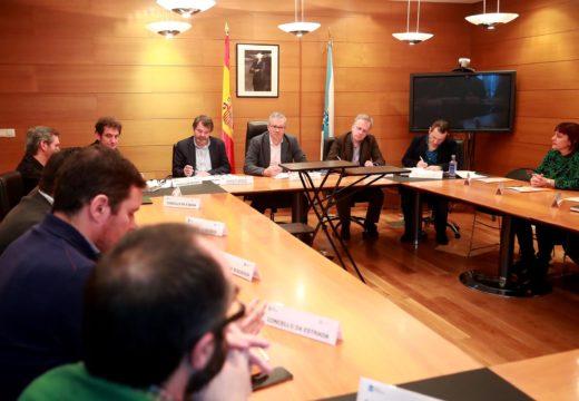 A Xunta e os concellos da área de Santiago acordan por unanimidade renovar para 2020 o Plan de Transporte Metropolitano, cun orzamento de case 1,4 millóns de euros
