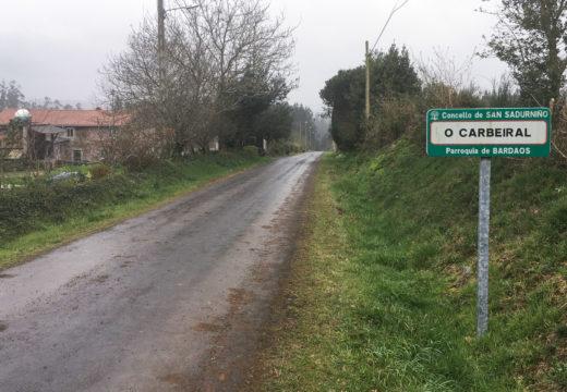San Sadurniño inclúe cinco quilómetros dentro do Plan de camiños da AGADER