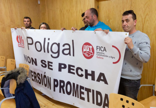 San Sadurniño apoia as reivindicacións do cadro de persoal de Poligal