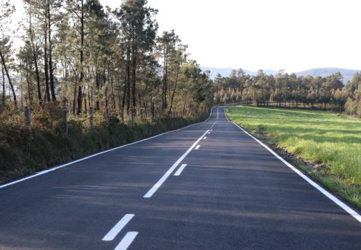 O Concello de Lousame recibe as obras de mellora na estrada de acceso á aldea de Servia, na que se investiron máis de 96.000 €