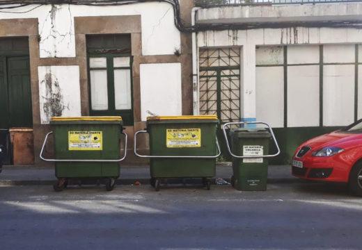 O Concello de Noia continúa co seu plan de instalación de anclaxes de contedores de lixo