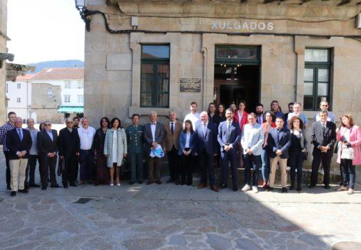 Noia conmemora a primeira sentenza ditada en galego nos seus xulgados