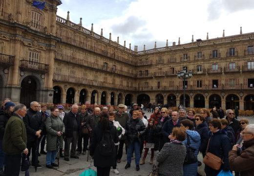 Un total de 55 veciños e veciñas de Frades participan nunha excursión a Salamanca
