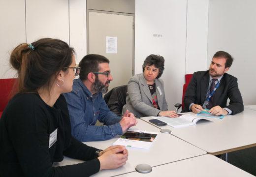 Beatriz Bascoy entrevístase en Bruxelas cun dos máximos responsables da redacción da nova Política Agraria Comunitaria