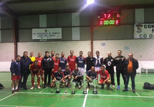 O Atletico Frades proclámase campión da XIII Liga Local de Fútbol Sala de Frades