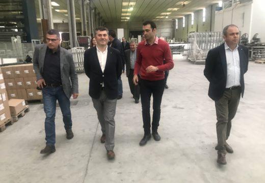 Ovidio Rodeiro traslada aos empresarios de Tordoia os apoios e programas autónomicos para impulsar a economía e o emprego local