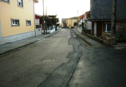 O concello inicia o expediente para unha nova pavimentación e instalación de rede de pluviais na rúa da Cruz en Aguiño