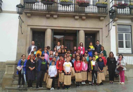 41 estudantes do colexio O Grupo devolven a visita ao alumnado de Santa María da Feira