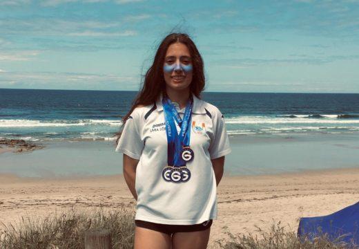 Lara López, sobresaínte no Campionato Galego Absoluto de Salvamento e Socorrismo