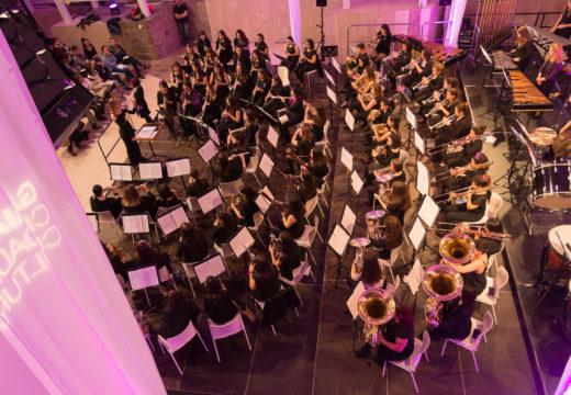 A Cidade da Cultura acolle esta fin de semana concertos de ata cinco bandas de música da provincia da Coruña no 'Serán'02'