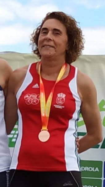 Ana Abuín, bronce no Campionato de España Péntatlon de Lanzamentos