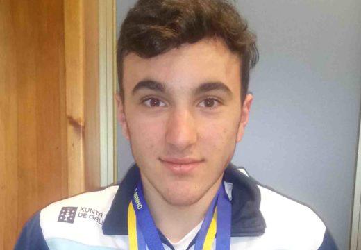 Marcos Vieites del Río, novo membro da selección galega de hóckey