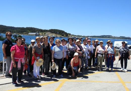 Unha trintena de persoas participou na V Andaina de Maiores, cun percorrido polo municipio de O Grove