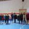 Unha decena de mulleres de Lousame participaron nun curso de defensa persoal