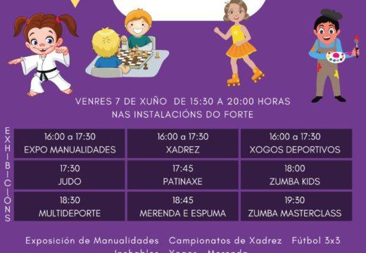 O Concello de Boqueixón celebra este venres a III Festa de Fin de Curso das Actividades Deportivas