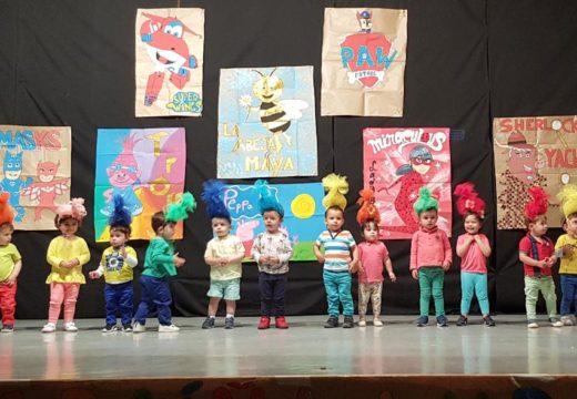 Animado Festival de Fin de Curso da Escola Infantil Municipal Raíña Lupa de Boqueixón