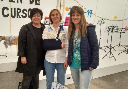 Rosalía e as nosas Letras engrosa a biblioteca do CPI de Xanceda