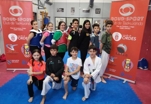 Campións e subcampións galegos do Boudsport no Autonómico Escolar de Combate