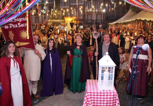 As tribos celtas de Boqueixón e Callobre protagonizarán este sábado 22 a Ofrenda do Lume Sagrado en Compostela