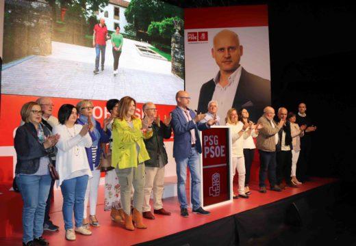 """Fernando Viqueira: """"o PSOE de Ordes é o único voto útil tras catro anos nos que o PP paralizou o goberno e UxO estivo ausente na oposición"""""""
