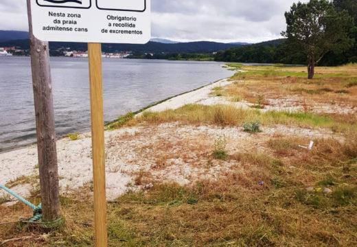 O Concello de Noia habilita unha zona na praia do Testal para que a veciñanza poida acudir coas súas mascotas