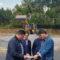 Comezan as obras de mellora da seguridade viaria na intersección da estrada provincial DP-1201 coa pista municipal de O Forte