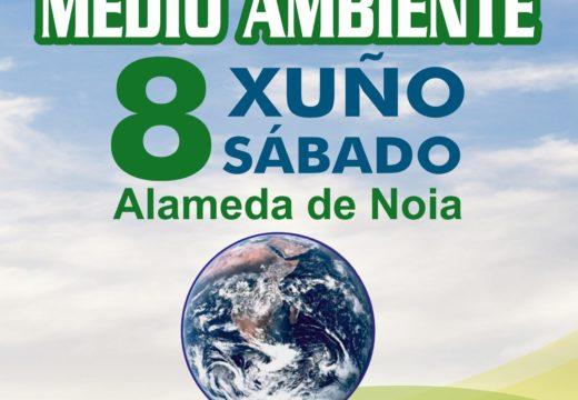 Noia conmemorará o Día do Medio Ambiente con 5 actividades a prol da reciclaxe e contra o consumo de tabaco este sábado 8 de xuño
