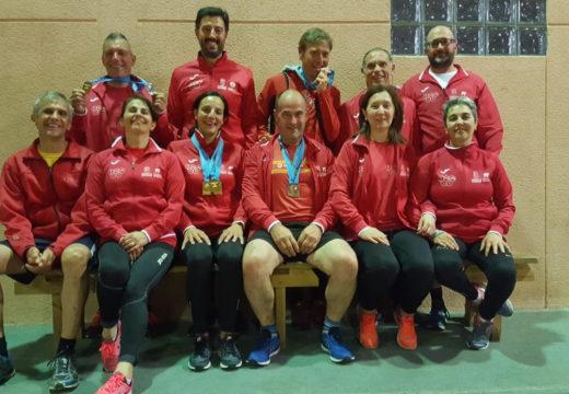 Ouros, pratas e bronces para os másters do Club Atlética a Silva-Ordes no Campionato Galego