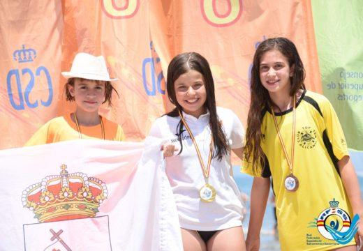 Xiana López Fernández, nova campioa nacional alevín en Salvamento e Socorrismo